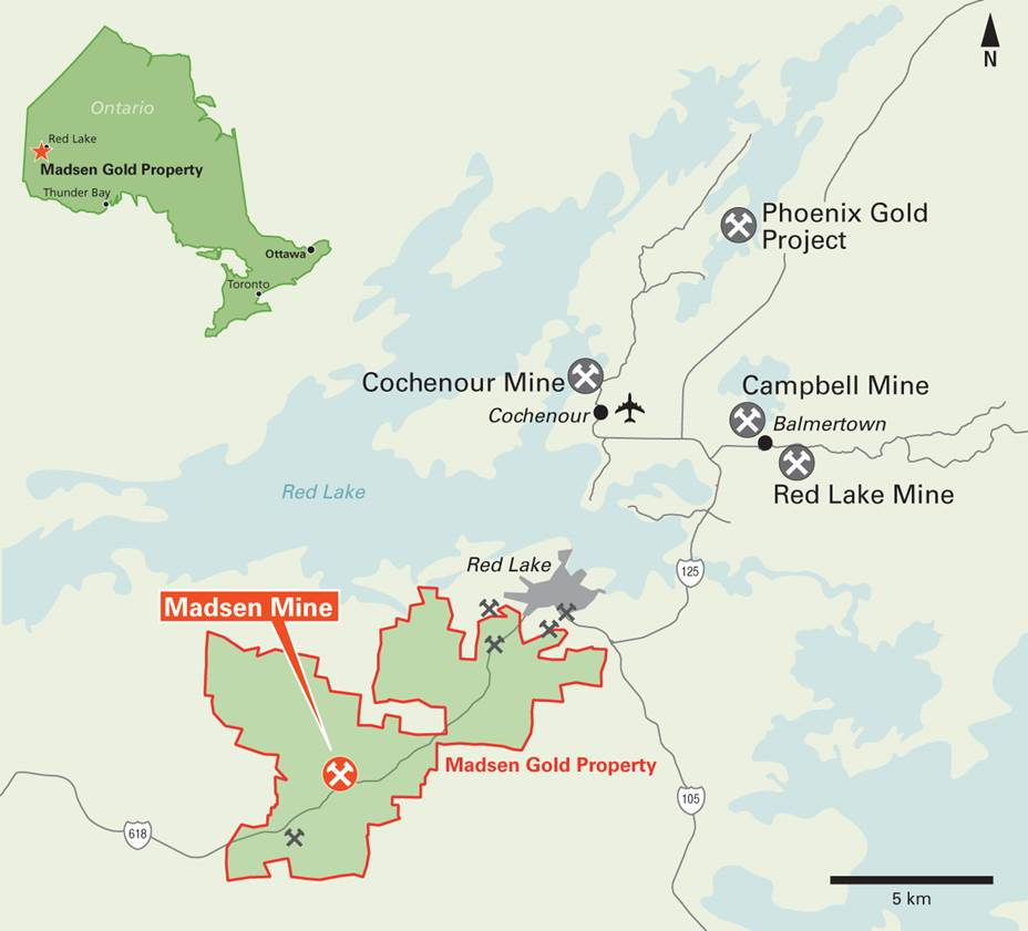 Madsen Map: Pure Gold Mining