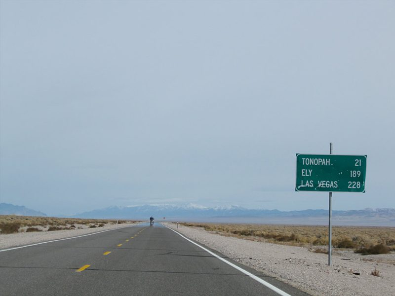 Infrastructure is excellent at Eastside, located about 32 km west of Tonopah, Nevada