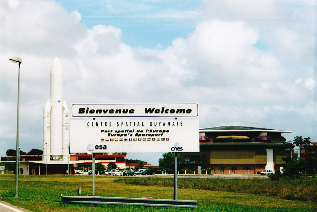 The Guiana Space Centre. Photo: www.satellitetoday.com
